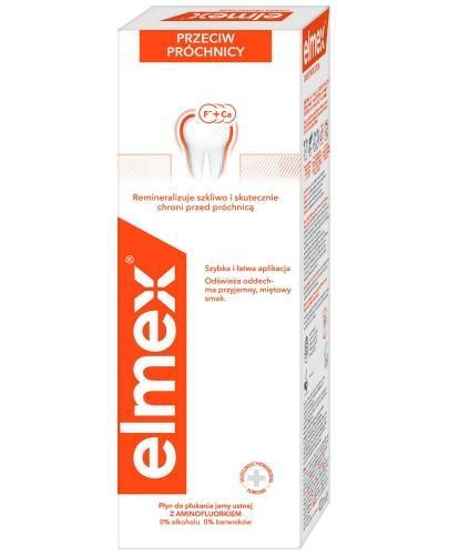 Elmex Przeciw próchnicy płyn do płukania jamy ustnej 400 ml