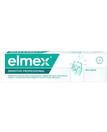 Elmex Sensitive Professional natychmiastowa ulga w nadwrażliwości pasta do zębów 75 ml