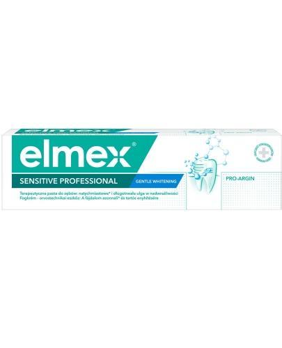Elmex Sensitive Professional Whitening DELIKATNE WYBIELANIE pasta do zębów 75 ml