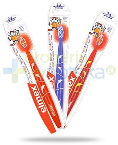 Elmex szczoteczka miękka do zębów dla dzieci 3-6 lat 1 sztuka