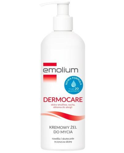 Emolium Dermocare kremowy żel do mycia 400 ml + KUP 2 produkty Emolium Dermocare 400 ml =...