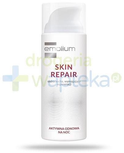 Emolium Skin Repair krem aktywna odnowa na noc 50 ml