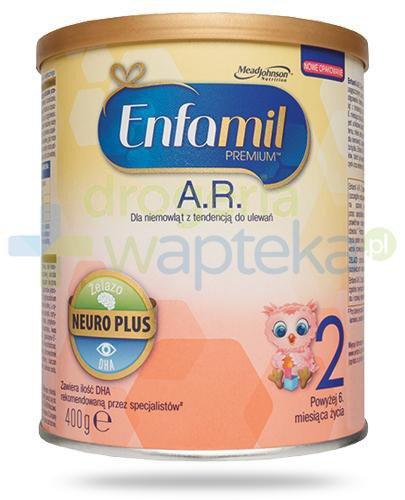 Enfamil 2 Premium AR mleko w proszku dla dzieci 6m+ 400 g