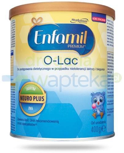 Enfamil O-Lac mleko w proszku na biegunka i wzdęcia u dzieci 0m+ 400 g
