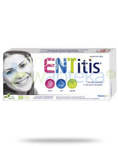 ENTitis 30 pastylek do ssania smak miętowy