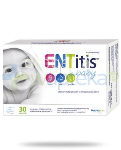 ENTitis Baby Proszek smak neutralny 30 saszetek  whited-out
