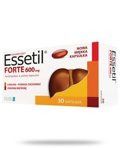 Essetil Forte 600mg 30 kapsułek