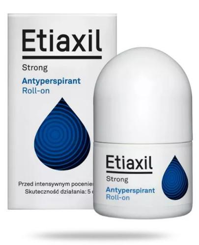 Etiaxil Strong antyperspirant roll-on 15 ml  whited-out