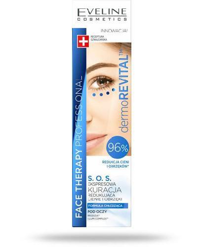 Eveline Face Therapy dermoRevital SOS ekspresowa kuracja redukująca cienie i obrzeki pod ...