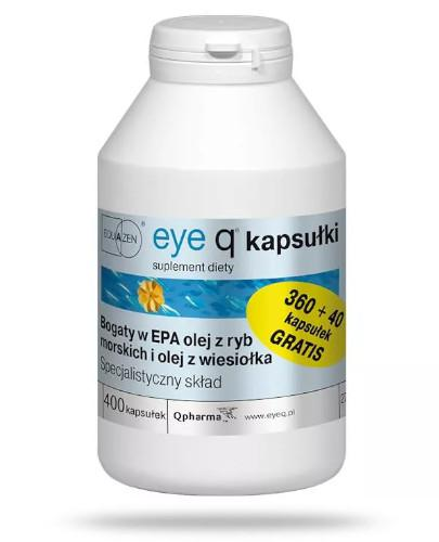 Eye Q preparat na koncentrację 400 kapsułek