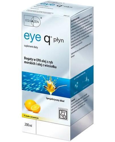 Eye Q preparat na koncentrację smak cytrynowy 200 ml