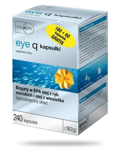 Eye Q preparat na koncentrację smak waniliowy 240 kapsułek