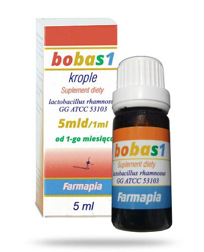 Farmapia bobas1 krople 5mld/1ml 5 ml  whited-out