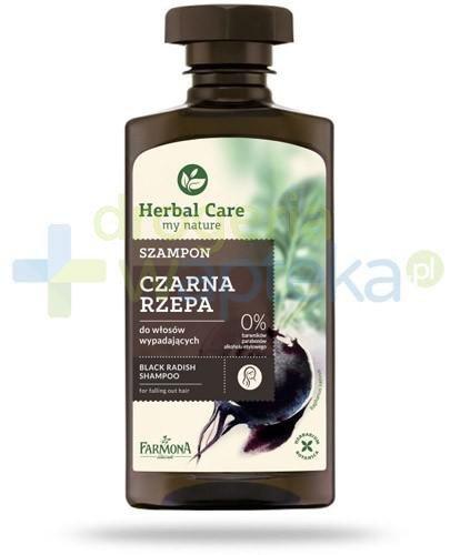 Farmona Herbal Care Czarna rzepa szampon do włosów słabych i wypadających 330 ml