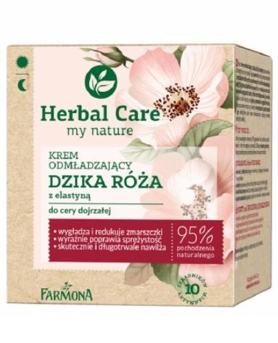 Farmona Herbal Care Dzika róża krem odmładzający do skóry dojrzałej 50 ml