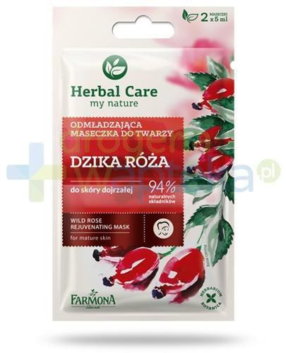 Farmona Herbal Care Dzika róża odmładzająca maseczka do twarzy do skóry dojrzałej 2...
