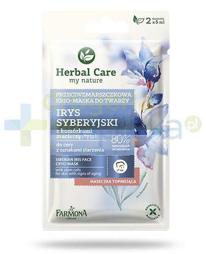 Farmona Herbal Care Irys syberyjski z komórkami macierzystymi maseczka przeciwzmarszczkow...