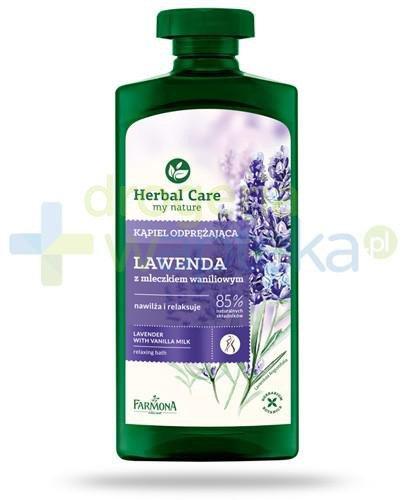 Farmona Herbal Care Lawenda płyn do kąpieli z mleczkiem waniliowym 500 ml