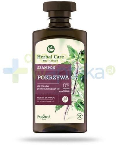 Farmona Herbal Care Pokrzywa szampon do włosów przetłuszczających się 330 ml