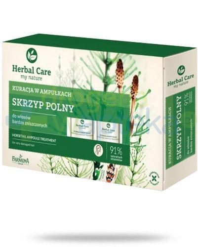 Farmona Herbal Care Skrzyp Polny ampułki do włosów bardzo zniszczonych 5x 5 ml