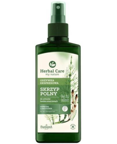 Farmona Herbal Care Skrzyp Polny odżywka ekspresowa do włosów bardzo zniszczonych 200 ml