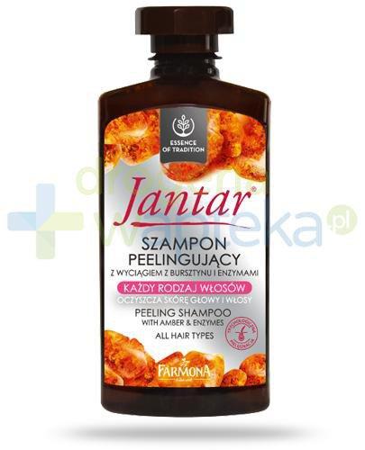Farmona Jantar szampon peelingujący z wyciągiem z bursztynu do włosów każdego rodzaj...