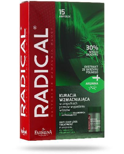 Farmona Radical Kuracja wzmacniająca przeciw wypadniu włosów, ampułki 15x 5ml