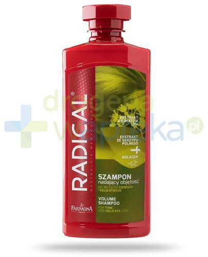 Farmona Radical szampon nadający objętość do włosów cienkich i delikatnych 400 ml