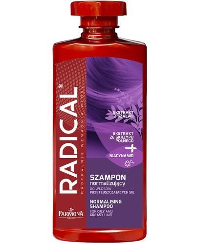 Farmona Radical szampon normalizujący do włosów przetłuszczających się 400 ml  whited-out