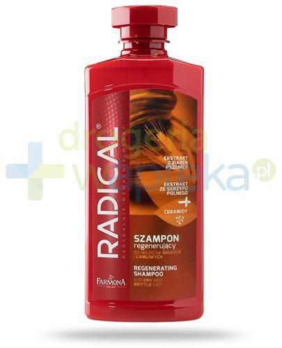 Farmona Radical szampon regenerujący do włosów suchych i łamliwych 400 ml