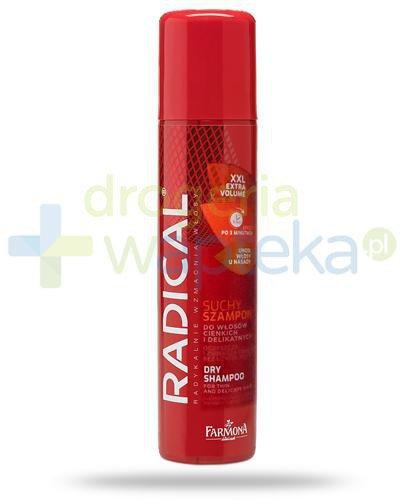 Farmona Radical XXL Extra Volume suchy szampon do włosów cienkich i delikatnych 180 ml
