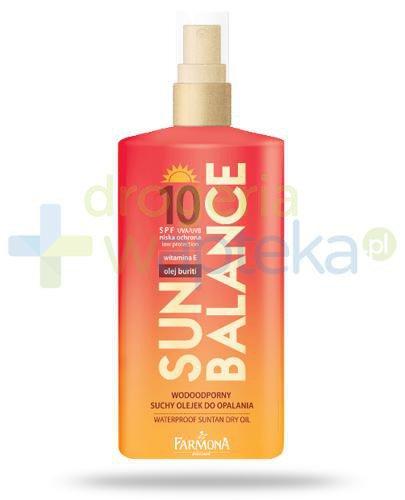 Farmona Sun Balance SPF10 wodoodporny suchy olejek do opalania 150 ml [KUP 2 produkty Sun ...