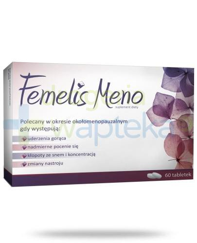 Femelis Meno 60 tabletek  whited-out