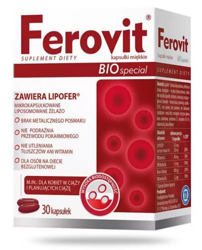 Ferovit Bio Special kapsułki miękkie 30 sztuk