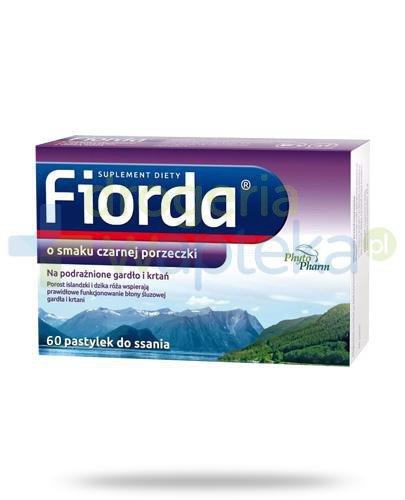 Fiorda o smaku czarnej porzeczki 60 pastylek