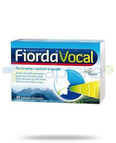 Fiorda Vocal 30 pastylek