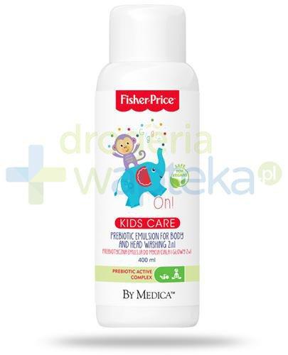Fisher Price Kids Care prebiotyczna emulsja 2w1 do mycia ciała i głowy 400 ml [Data ważności 29-02-2020]