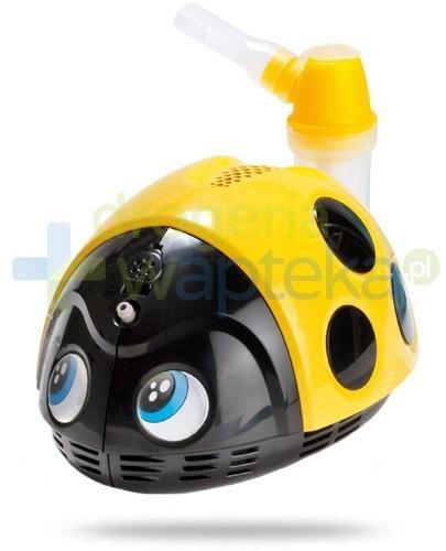 Fleam Magic Care Mr. Beetle inhalator tłokowy biedronka 1 sztuka  whited-out