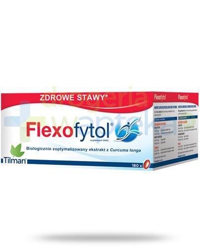 FlexoFytol 180 kapsułek  whited-out