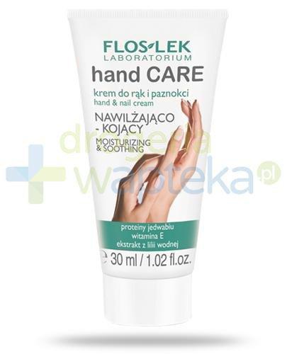 Flos-Lek Hand Care krem nawilżająco kojący do rąk i paznokci 30 ml