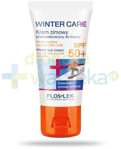 Flos-Lek Winter Care ochrona zimą Krem zimowy przeciwsłoneczny SPF 50+ 30 ml