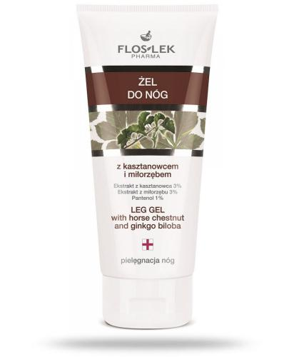 Flos-Lek Żel do nóg z kasztanowcem i miłorzębem 200 ml