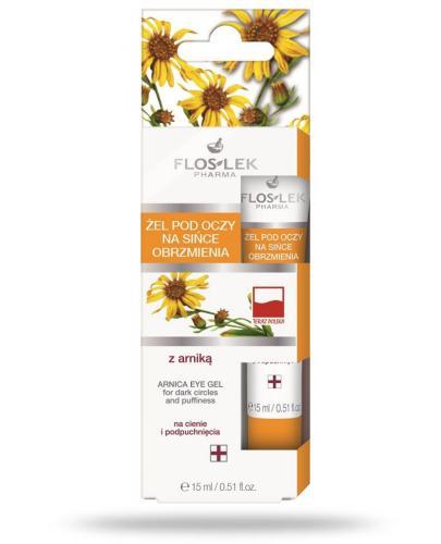 Flos-Lek Żel pod oczy z arniką na sińce i obrzmienia 15 ml