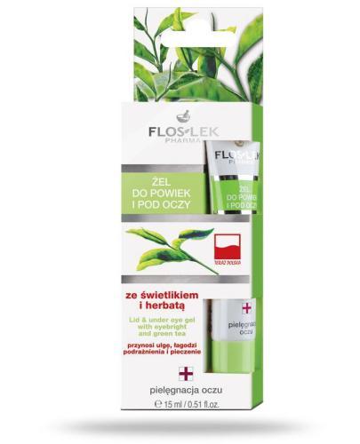 Flos-Lek Żel ze świetlikiem i herbatą 15 ml