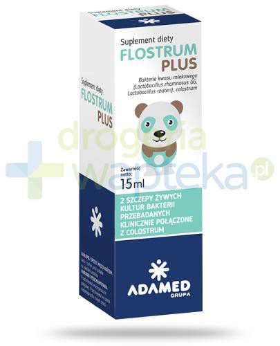 Flostrum Plus krople 15 ml