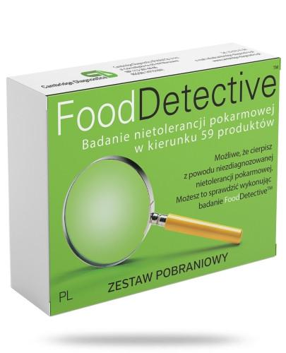 Food Detective Zestaw pobraniowy test z krwi na nietolerancje pokarmowe