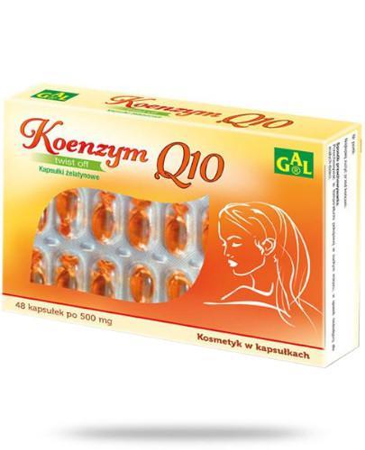 GAL Koenzym Q10 48 kapsułek żelowych