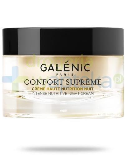 Galenic Confort Supreme krem intensywnie odżywczy na noc do skóry suchej 50 ml