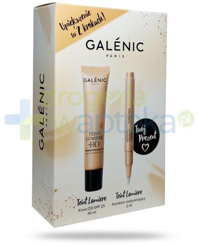 Galenic Teint Lumiere DD SPF25 krem wyrównujący koloryt 40 ml + Galenic Teint Lumiere ko...  whited-out