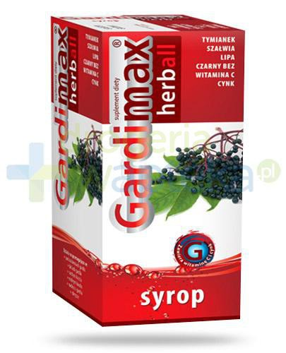 Gardimax Herball syrop 110 ml  whited-out